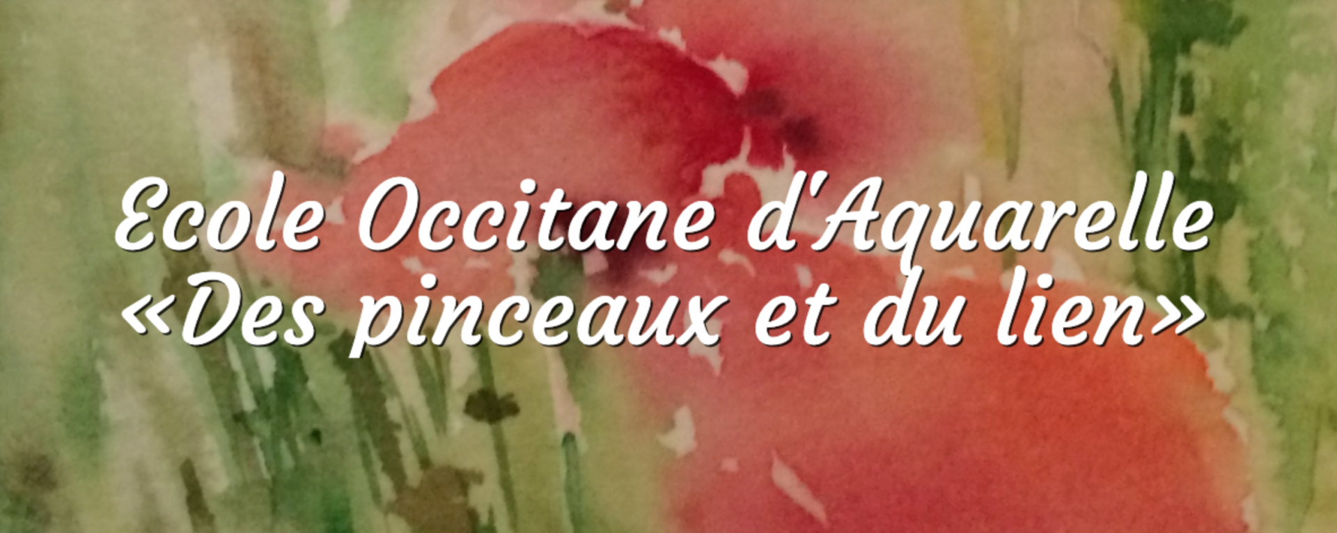 Ecole Occitane d'Aquarelle «Des pinceaux et du lien»